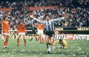 Mario Kempes, cel mai bun jucător al Mondialului din Argentina, 1978