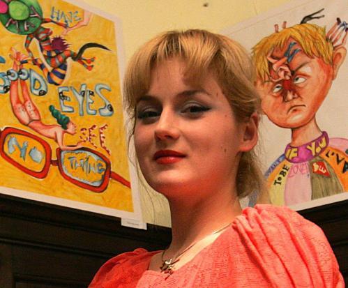 Am decupat o fotografie a Roxanei Soare făcută de Vlad Stănescu, de la Evz