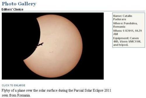 FOTO: Catalin Paduraru, Fundulea. Sursa: http://www.skyandtelescope.com/community/gallery