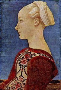 Domenico Veneziano - Portret de tânără femeie