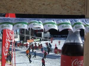 """Fotografie făcută la Busteni, pârtia Kalinder, în data de 4 februarie 2011, cu ocazia inaugurării """"parcului de distractii"""". FOTO: Călin HERA"""