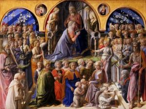 Fra' Filippo Lippi - Coronation of the Virgin. Via g1b2i3