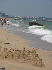 Plajă lângă Eforie. Foto: Călin Hera (2010)