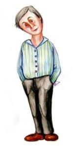 Dl. Lică, desen de Roxana Soare