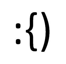 Emoticon cu mustaţă