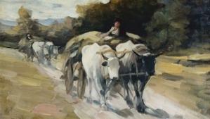 Car cu boi, de Ion Grigorescu