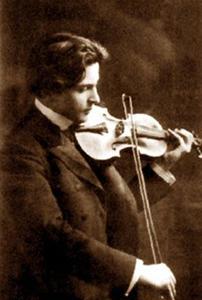 George Enescu şi vioara lui
