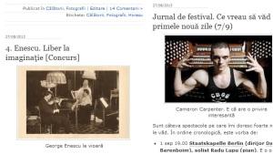 Printscreen de pe blogul PA-uri şi mirări (Călin Hera)