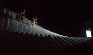 Das Rheingold, Aurul Rinului, de Wagner - imagine dintr-un spectacol desfăşurat la Metropolitan Opera