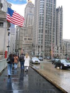 Oameni prin Chicago. Foto: Calin Hera