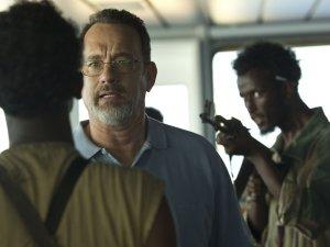 Secvenţă din filmul Captain Phillips, cu Tom Hanks în prim plan