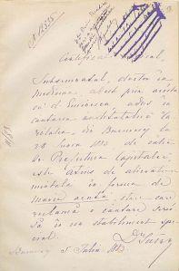 Fişa de internare a lui Eminescu, publicată de Evz