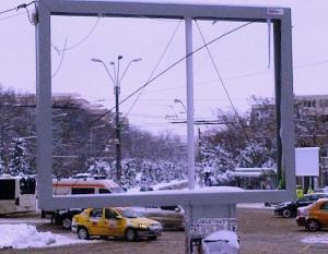 Tablou de iarnă. Foto (cu telefonul): Călin Hera