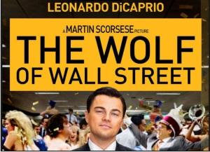 Afişl filmului The Wolf of Wall Street