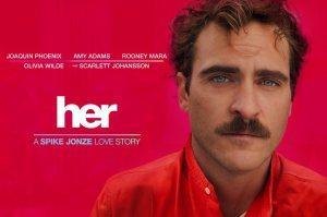 Afişul filmului Her, nominalizat la Oscar 2014