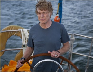 Robert Redford în filmul All Is Lost