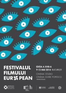 Afişul Festivalului Filmului European, ediţia a XVIII-a