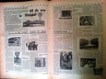 Articolul 48 de ore în Tiraspol / Revista NU  nr. 74/1992 (12-18 mai)