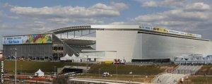 Stadionul din Sao Paolo, unde va avea loc primul meci, Brazilia-Croaţia