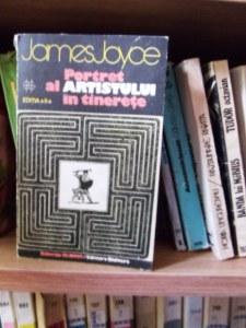 Portret al artistului la tinereţe, James Joyce, ediţia 1969. Foto: Călin Hera