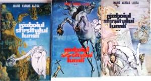 Războiul sfârşitului lumii, de Llosa, apărută la editura Dyonisos în 1992, cea mai plină de greşeli de tipar carte ever!