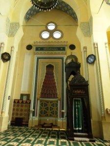 Moscheea Carol din Constanţa (interior). Foto: Călin Hera