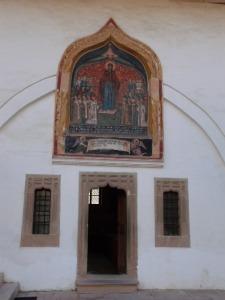 Sala de mese a măicuţelor de la Mănăstirea Horezu. Foto: Călin Hera (mfc)