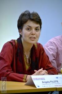 Angela Filote, şefa Reprezentanţei Comisiei Europene în România. Sursa: freedomhouse.ro