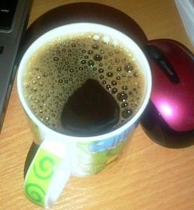 Cafea. Atât. Foto (cu telefonul): Călin Hera mfc