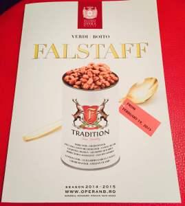 Coperta programului Falstaff (ONB), r. Graham Vick