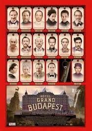 Afiş The Grand Budapest Hotel, 9 nominalizări la Premiile Oscar 2015