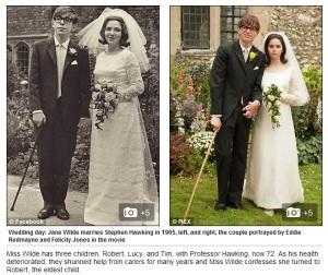 Personaje şi actori, faţă în faţă, fotografii arătate de Daily Mail