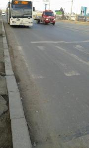 """Vedere din Bucureşti. De-a lungul drumului în zona staţiei RATB """"CFR Progresul"""". Foto cu telefonul: Călin Hera"""