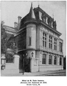 Casa lui Take Ionescu la 1906. Sursa: wikipedia