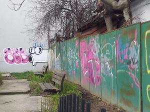 Vedere din București. Aeul de lângă Rond Baba Novac. Foto cu telefonul: Călin Hera