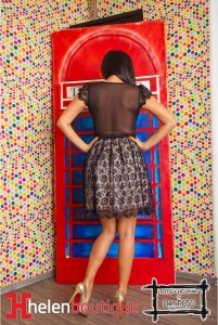 Altă rochie. Sursa: helenboutique.ro