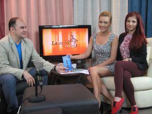 Dimineaţă foarte agreabilă cu Anca Mitrescu şi Angela Novăcescu. Foto: Laura