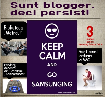 Trei motive pentru care Samsung Galaxy Tab 4. InfoNaiv