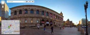 Vedere din Boston. Imagine din Copley Square, Boston, via Google Street View