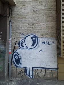 Vedere din București. Aeul 15, lângă Piața Obor. Foto cu telefonul: Călin Hera