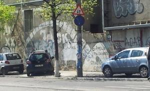 Vedere din București. Aeul alb de pe Pache Protopopescu. Foto cu telefonul: Călin Hera