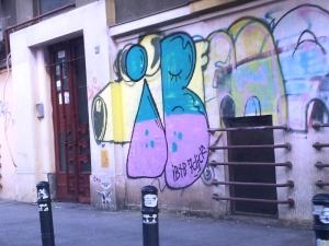 Vedere din București. Aeul color, între Piața Lahovary și Bd. Magheru. Foto cu telefonul: Călin Hera