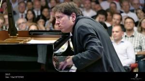 Fazil Say prinde sunetul perfect la Festivalul George Enescu. Foto: Vlad Eftenie
