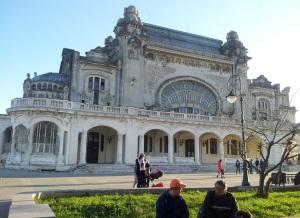 Vedere din Constanța. Cazinoul. Foto cu telefonul: Călin Hera
