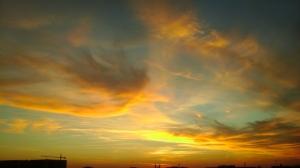 București, apus de soare. Foto: Calin Hera