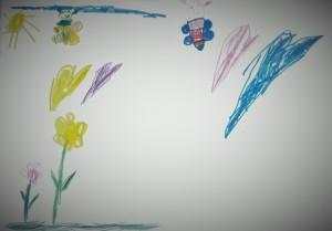 Flori. Soare. Fluturi. De la Carina