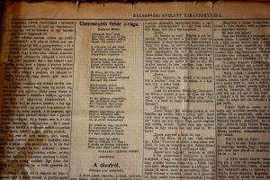 Vedere din presa din secolul XIX. Prima traducere în maghiară a unei poezii eminesciene