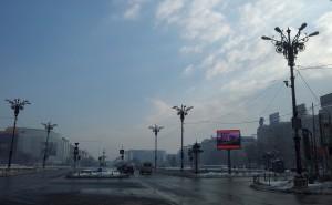 Vedere din București, Piața Unirii. Foto: Călin Hera