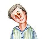 Dl. Lică (detaliu). Desen de Roxana Soare