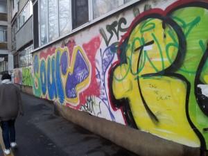 Vedere din București. Graffiti de cartier. Foto: Călin Hera